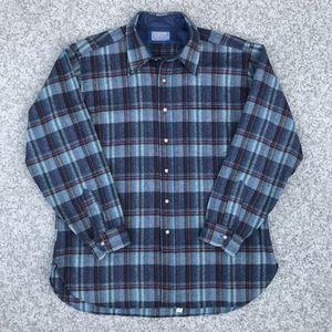 Pendleton 1990's Wool Flannel Shirt